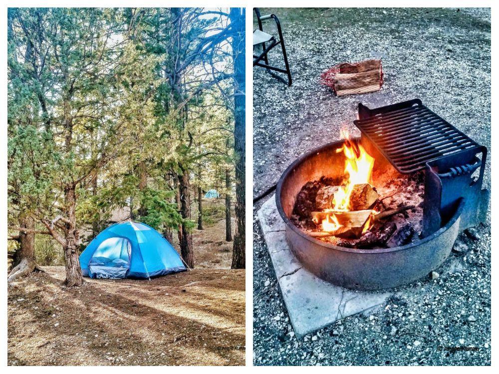 Camping in Bryce Canyon National Park Utah