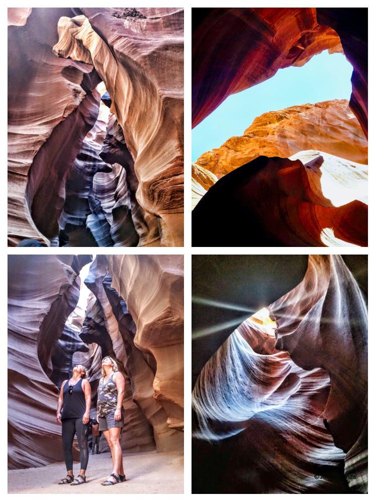 Upper Antelope Canyon near Page Arizona