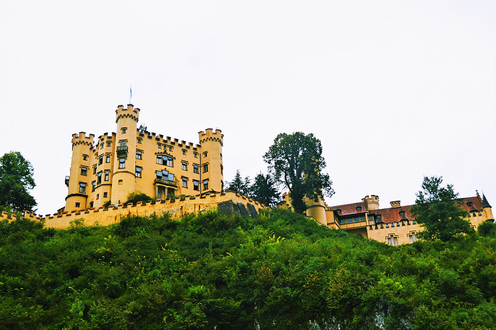 Hohenschwangau Castle Bavaria Germany, Travel Germany, tips for visiting.