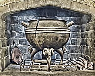 """""""castle cauldron"""""""