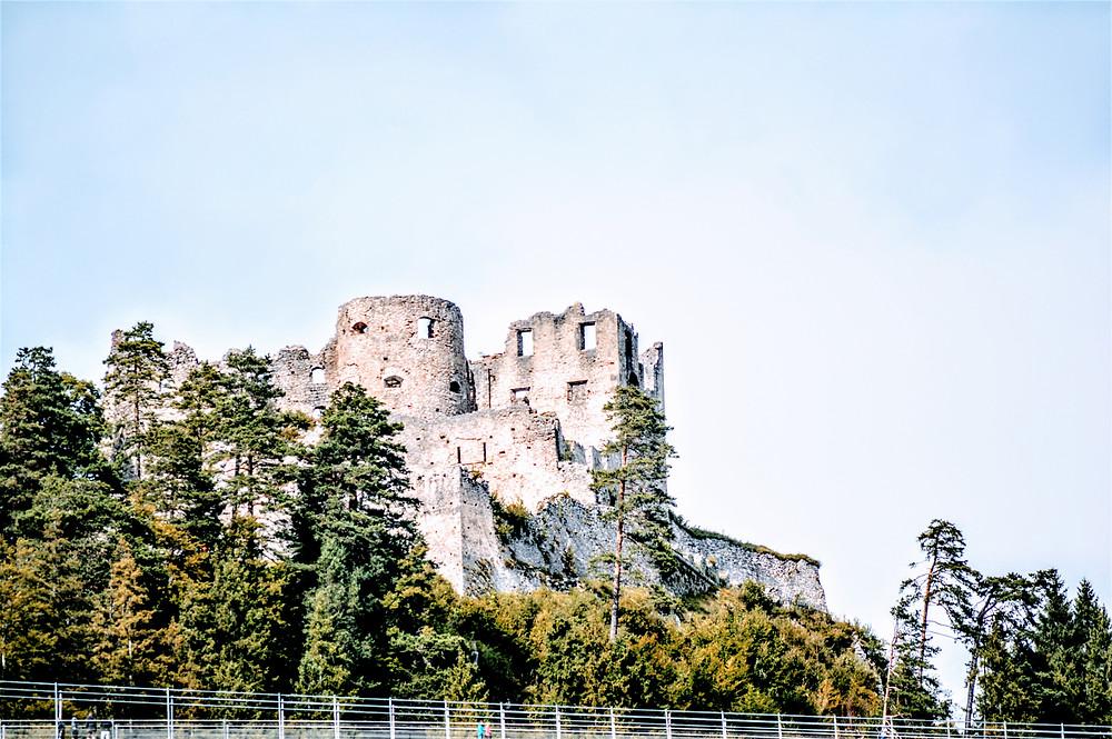 Ehrenberg Castle Ruins, Reutte Austria Alps