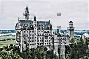 """neuschwanstein castle"" schwangau germany"
