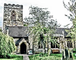 """""""holy trinity church"""" york england"""