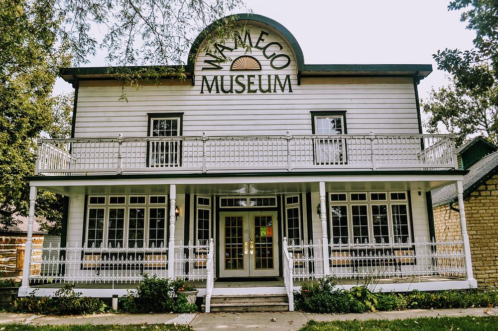 Wamego Historical Society Museum, Pottawatomie County Kansas, travel visit Kansas