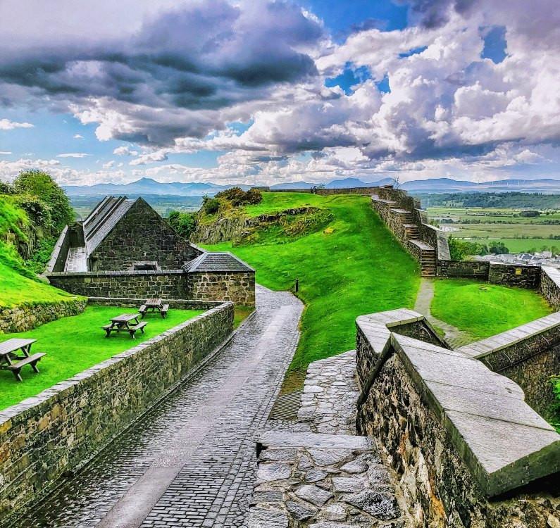 ramparts Stirling Castle Scotland