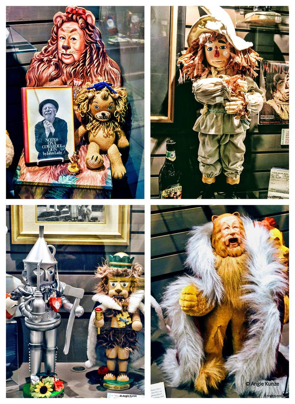 Wizard of Oz memorabilia at the Oz Museum in Wamego Kansas