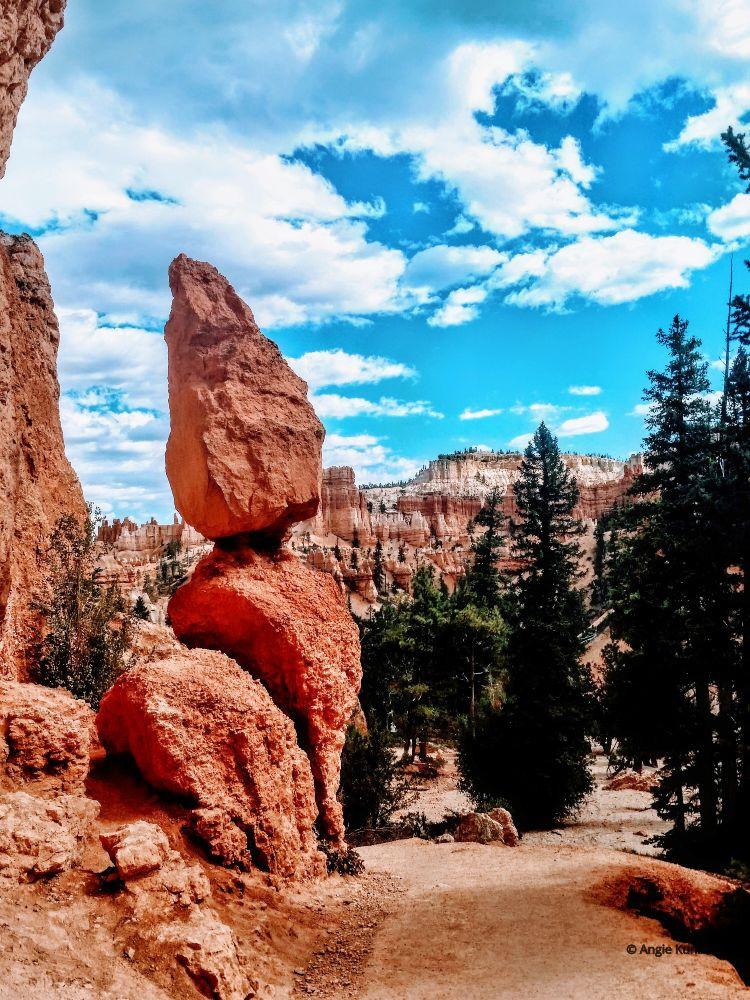 hoodoos in Bryce Canyon National Park Utah