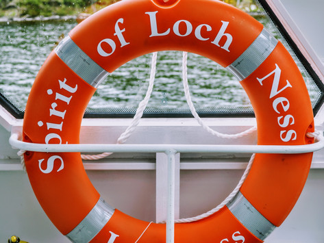 Hunting for monsters, on Loch Ness!