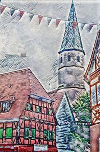 badwindsheim banner, germany