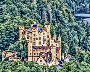 """hohenschwangau castle"" schwangau germany"