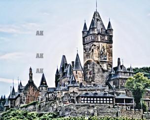 """reichsburg castle #2""cochem germany"
