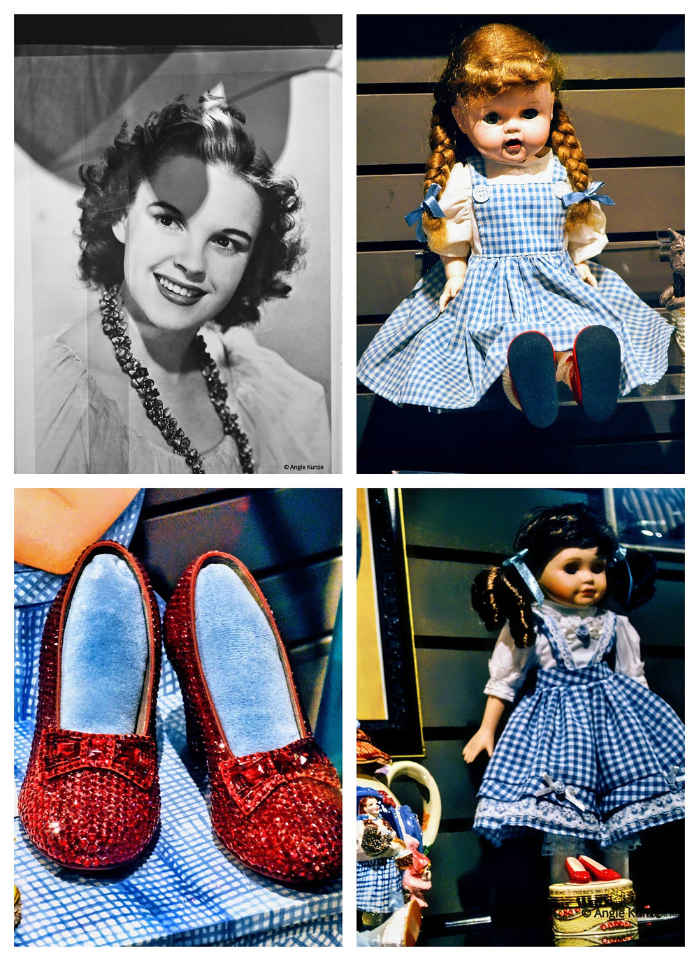 Dorothy Gale, Judy Garland Memorabilia at the Wizard of Oz Museum in Wamego Kansas