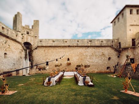 Kaštel Morosini-Grimani kao bajkovita lokacija za vjenčanja.