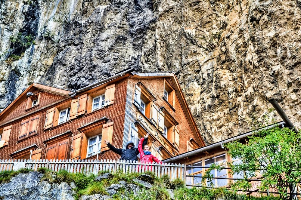 berggasthaus Aescher-Wildkirchli Schwende Switzerland