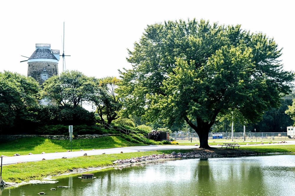 Wamego City Park Pond, Dutch Mill, Pottawatomie County, visit travel Kansas