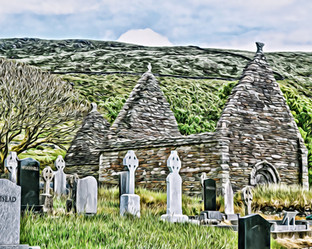 Kilmalkedar Church (1) Dingle Peninsula Ireland