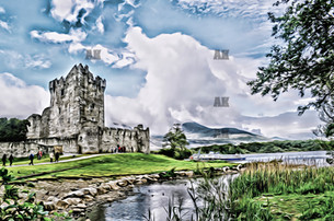 """ross castle"" killarney ireland"