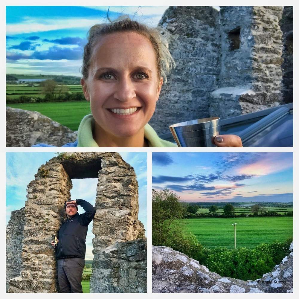 rent a castle in the countryside with a view at Ballintotis Castle in Ireland