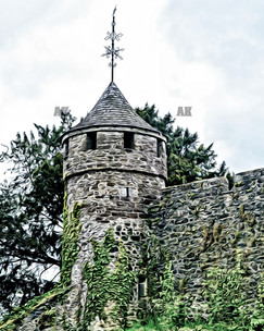 """""""cahir castle turret""""cahir ireland"""