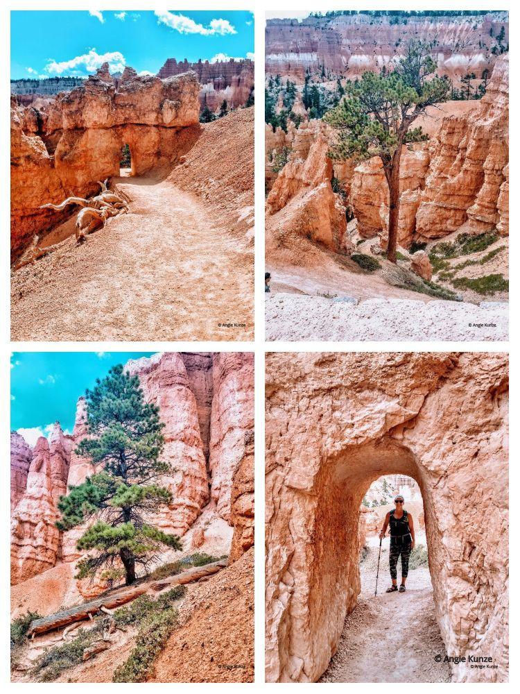 hiking Bryce Canyon National Park Utah