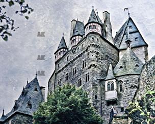 """""""burg eltz castle"""" #3 wierschem, germany"""