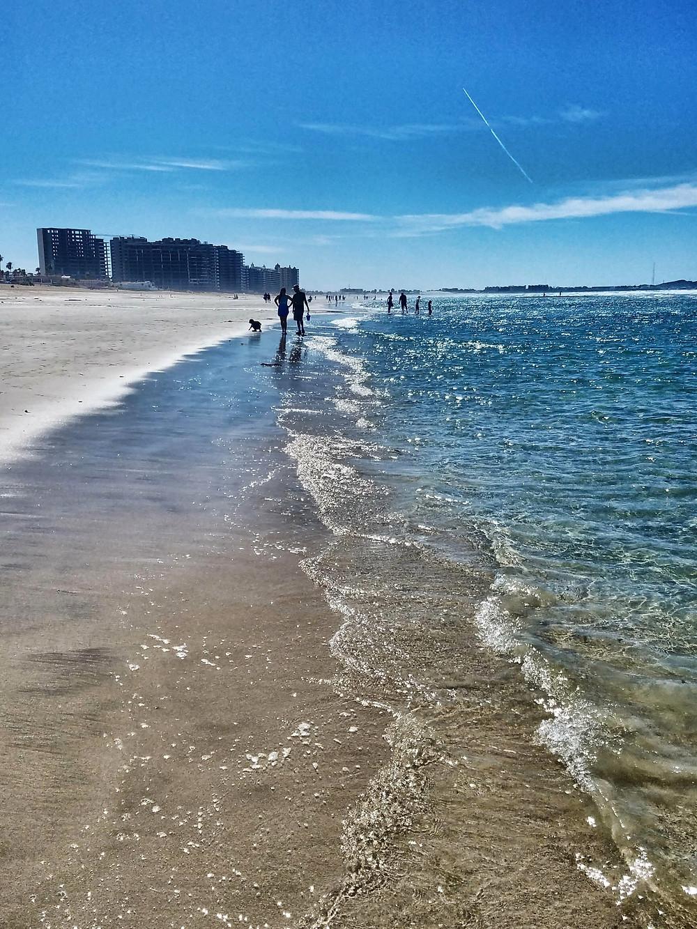 beach Sea of Cortez, Gulf of California, Puerto Penasco, Rocky Point Mexico