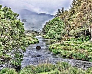 irish valley stream