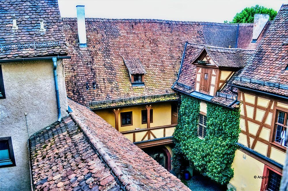 Gotisches Haus (The Gothic House) in Rothenburg ob der Tauber, Bavaria Germany. Hotel accomodations.