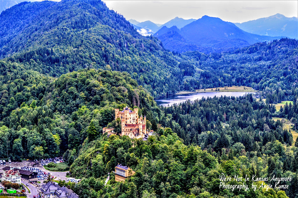 Hohenschwangau Castle Bavaria Germany, Travel Germany, tips for visiting from Toto, we're not in Kansas anymore.