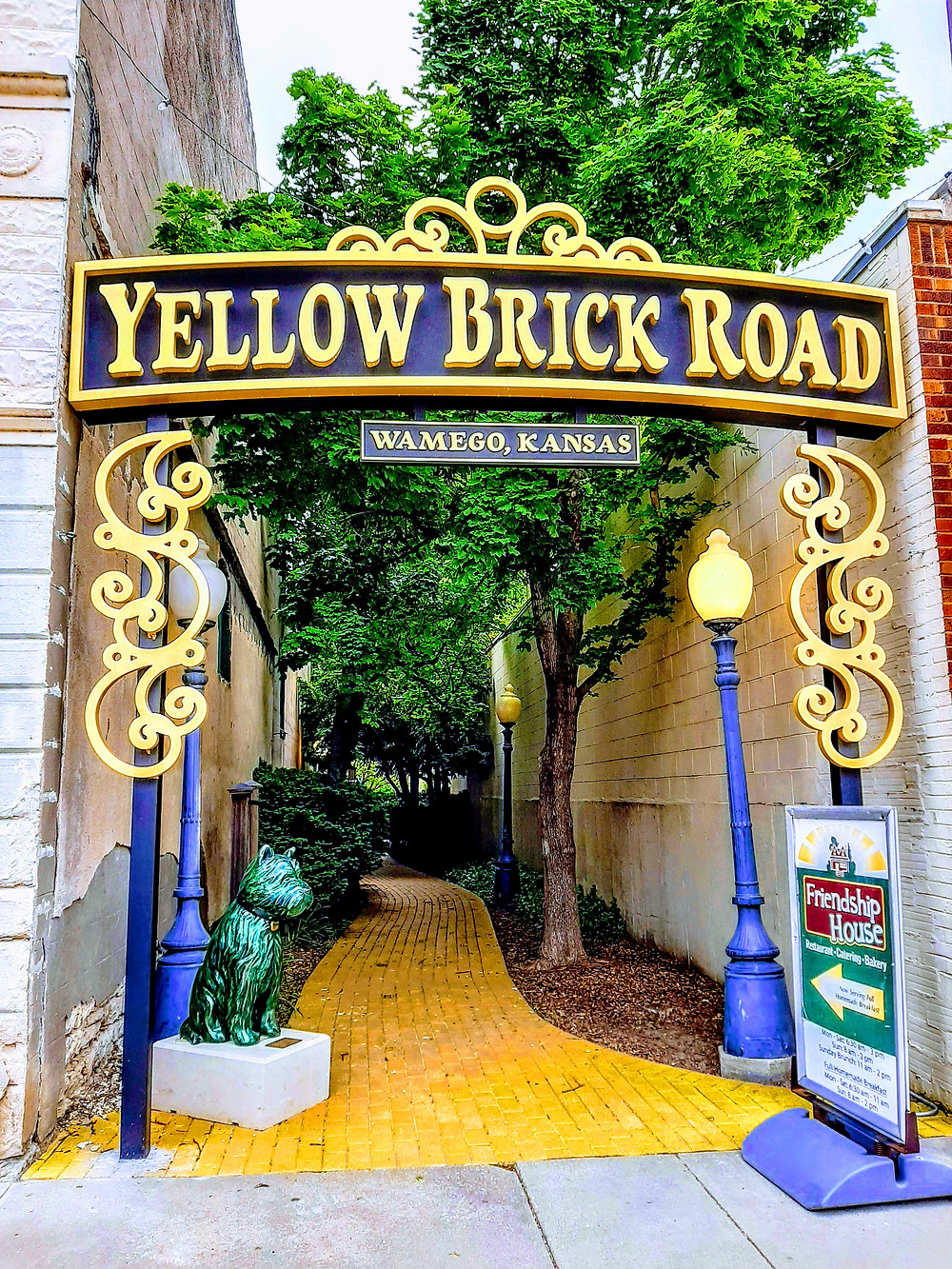 The Yellow Brick Road, Wamego Kansas
