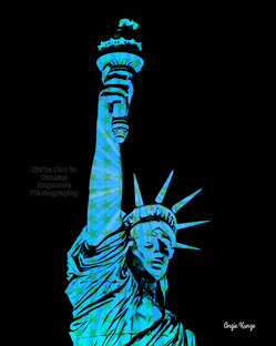 """""""lady liberty"""" stars"""