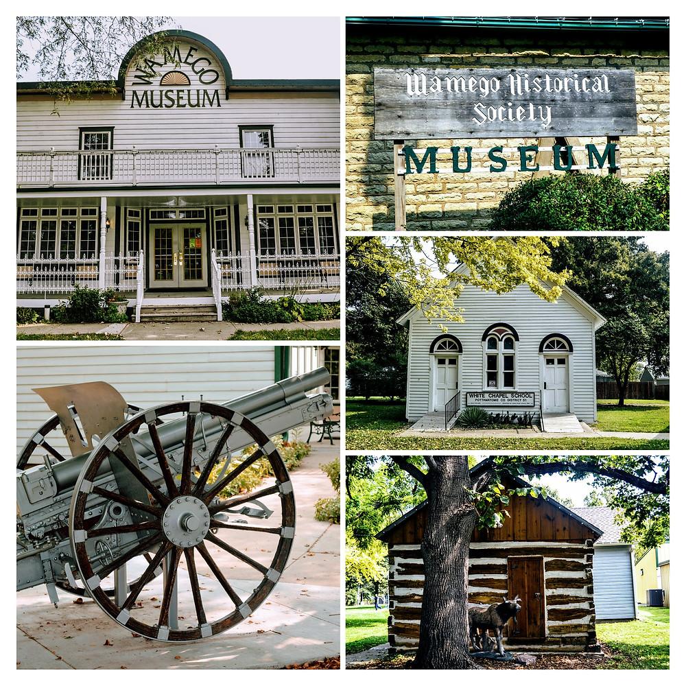 Wamego Historical Society Museum, City Park, Wamego Kansas