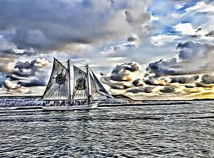 destin florida sailboat artwork in my seaside nautical under the sea tropical artwork gallery