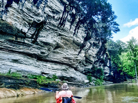 Kayaking the Buffalo River in Arkansas: tips for planning a trip on stunning Buffalo
