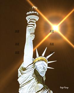"""lady liberty"" sunbeam flare"