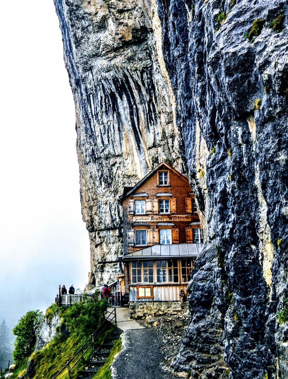 Berggasthaus Aescher-Wildkirchli Schwede Switzerland