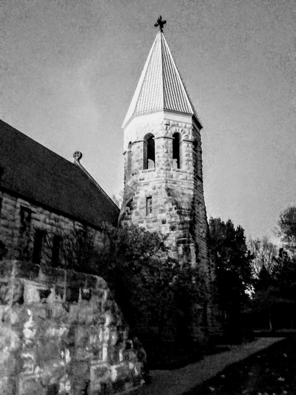 Ft. Riley Kansas Historical Society Ghost Tour sights, main post, chapel