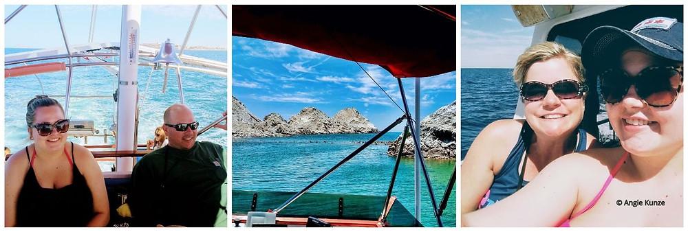Swim with California Sea Lions, boat ride to Bird Island, San Jorge Island, in the Sea of Cortez, Gulf of California Mexico