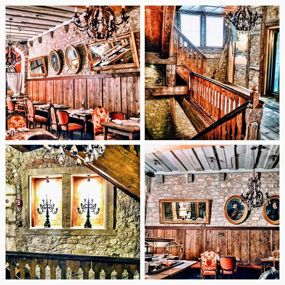 Gotisches Haus (the Gothic House) in Rothenburg ob der Tauber, Bavaria Germany. hotel accomodations