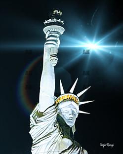 """lady liberty"" strobe flare"