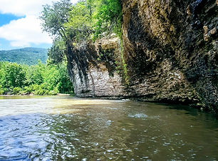 Buffalo River in Arkansas United States Blog Menu