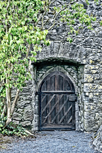 """""""cahir castle door"""" cahir ireland"""