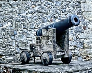 cahir castle cannon