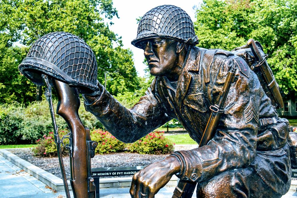Veterans War Memorial, Wamego City Park, some gave all, duty called, sacrifice, duty to country, Pottawatomie County Kansas, travel visit Kansas, ultimate sacrifice