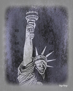 """lady liberty"" tin type"