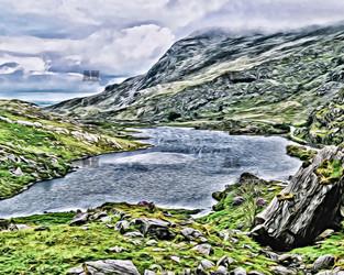 gap of dunloe the lake