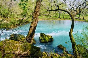 Big Springs in Van Buren Arkansas in my United States Blog Menu