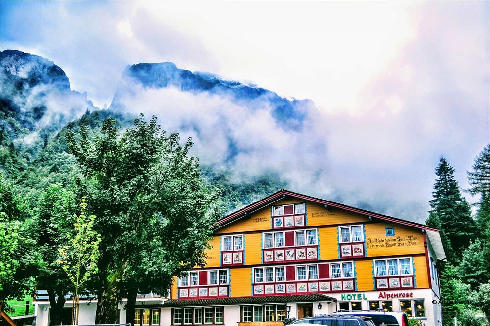 Hotel Alpenrose, Wasserauen, Switzerland
