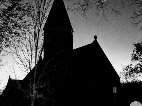 Hunting ghosts! Ft. Riley Historical Society's annual ghost tour.