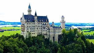 Neuschwanstein Castle in my Europe blog menu